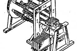 Внешний вид первого двигателя Якоби