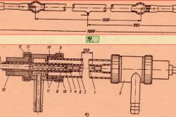 Схема дуговых ксеноновых ламп типа ДКСТ