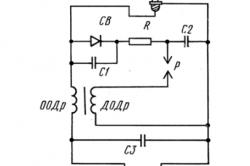 Схема ввода трансформатора