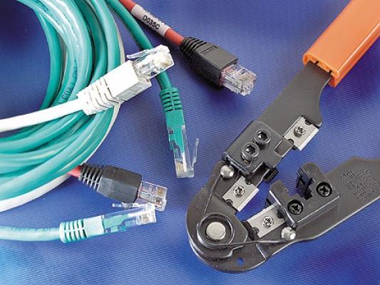 Провода для монтажа локальных сетей, телефонных линий.