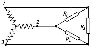 Трехпроводная трехфазная цепь