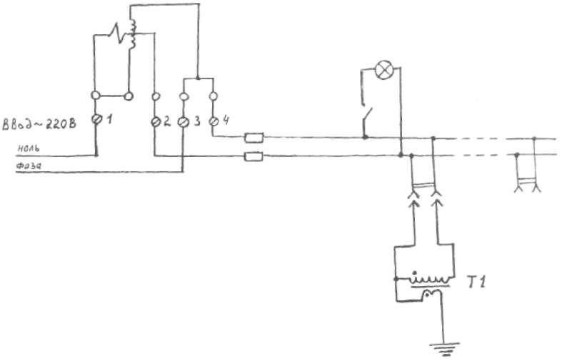 Схема сборки реверс-прибора