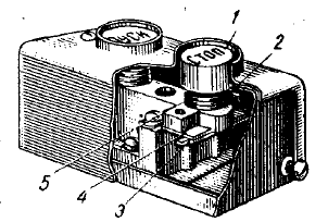 Рисунок 1. Кнопочный элемент устройства управления.