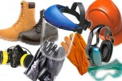 Средства защиты для работника в электроустановке.
