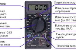 Схема устройства мультиметра