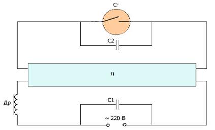 Схема включения лампы g23 фото 774
