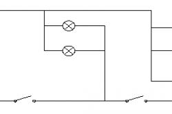 Подключение пятирожковой люстры к двухпроводной линии