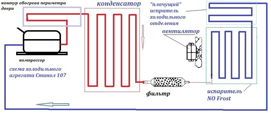 Пример схемы агрегата