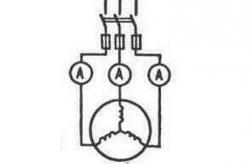 Схема сушки изоляции обмоток током короткого замыкания