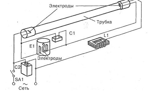 Схема включения лампы g23 фото 424