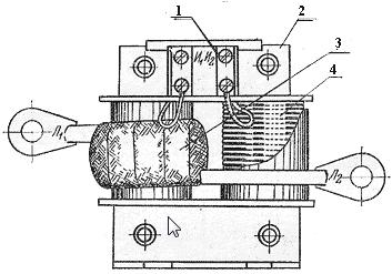 Трансформатор тока типа ТК-20