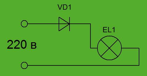 Схема включения лампы g23 фото 372