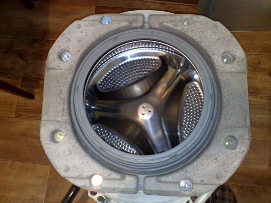 Боковые грузы барабана стиральной машины