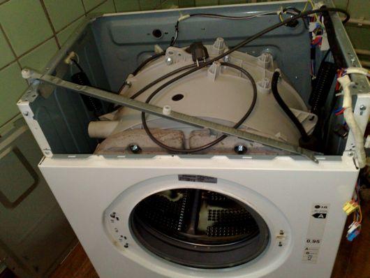 Ремонт барабана стиральной машины своими руками