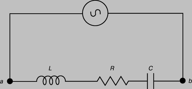 Схема цепи переменного тока