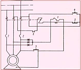 Рисунок 2. Схема защитного отключения.