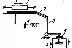 Принципиальная схема включения теплового реле