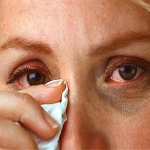 Слезоточивость глаз