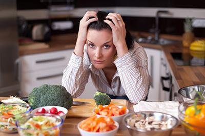 женщина и правильное питание
