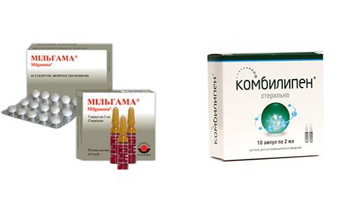 Мильгамма и Комбилипен являются препаратами для комплексного лечения заболеваний нервной системы