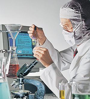 анализы в лаборатории