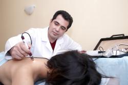 Физиотерапия при заболевании позвоночника