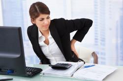 Неправильная осанка - причина остеохондроза