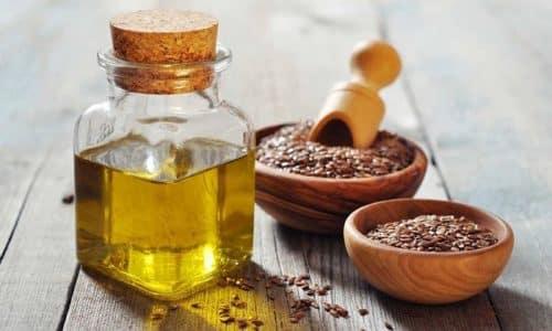 Масло из семян льна применяют наружно для массажа железы и компрессов