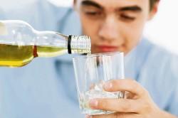 Боли после принятого накануне алкоголя