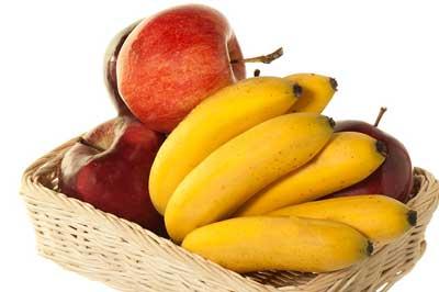 яблоки и бананы