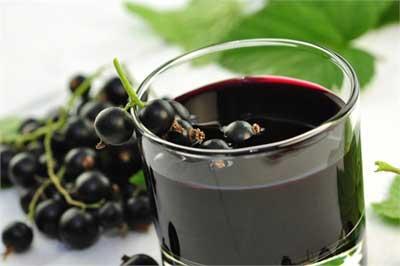 сок из ягод черной смородины