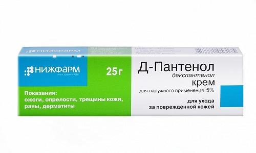 Депантенол можно применять в детском возрасте