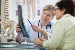 Диагностика спондилолистеза с помощью рентгена