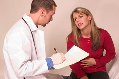 на приеме к врача
