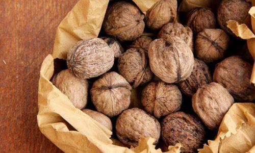 Ядро грецкого ореха - естественный источник йода, селена, витаминов и биологически активных веществ