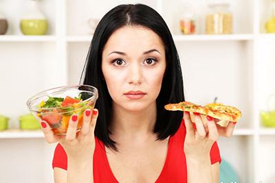 выбор что съесть