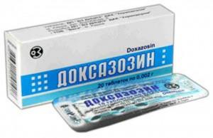 Доксазозин при простатите