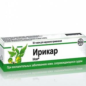 Ирикар - применяется при различных заболеваниях кожи