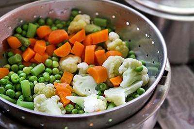 овощи на пару