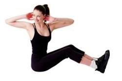 """""""Скручивания"""" для укрепления мышц спины"""