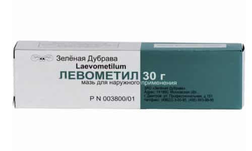 Левометил содержит в составе антибиотик, что способствует быстрому заживлению ран и ссадин