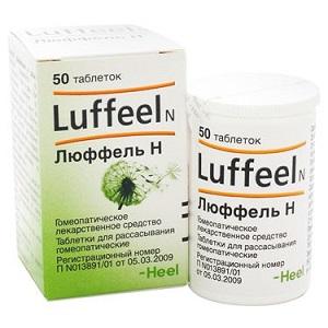 Люфель - применяется при аллергическом рините и риноконъюнктивите