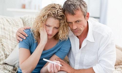Нарушения выработки гормонов щитовидной железой служат причиной бесплодия