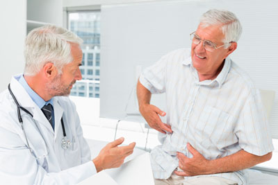 прием у врача при коликах в животе