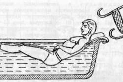 Вытяжение позвоночника в  ванне