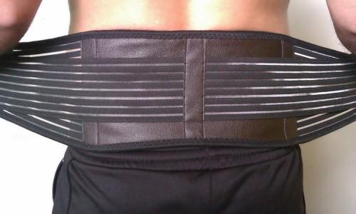 Использование пояса для спины