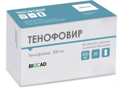 Препарат тенофовир