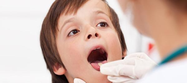 диагностика стоматита у детей