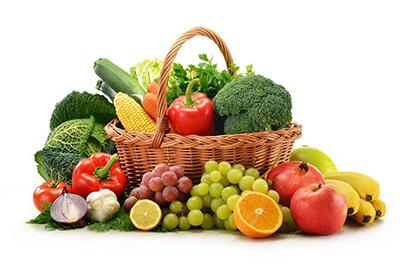 полезные овощи и фрукты
