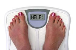 Избыточный вес - одна из причин шейного остеохондроза
